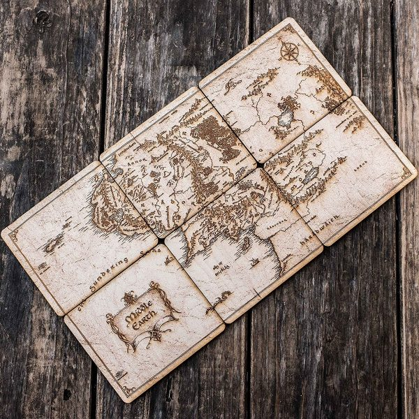 game of thrones beer coasters winterfell 52 unique drink coasters to help you keep your stains off in style