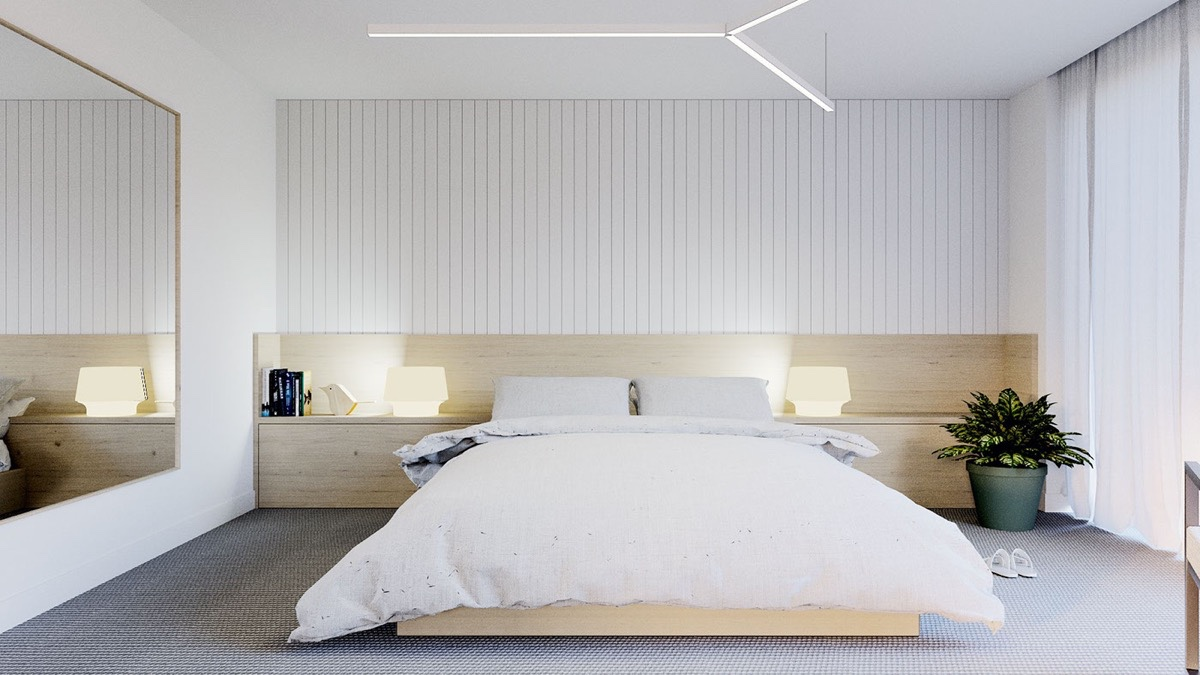 40 Serenely Minimalist Bedrooms To Help