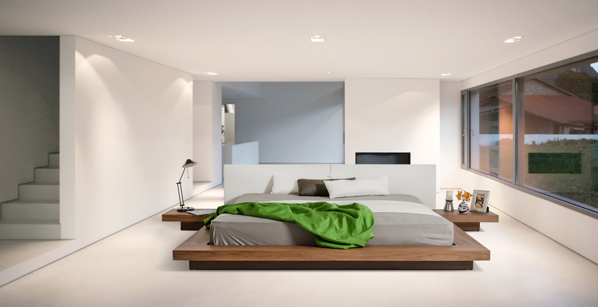Modern Day Bedrooms Minimalist Design Custom 40 Serenely Minimalist Bedrooms To Help You Embrace Simple Comforts Inspiration Design
