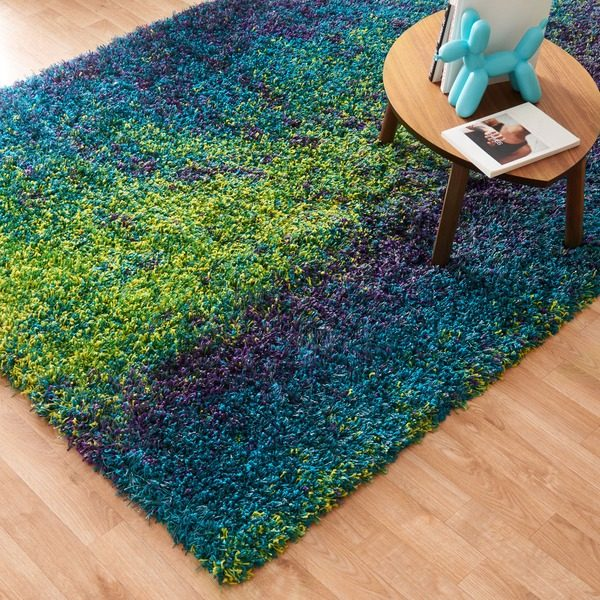 one most lavish color area net floors decorate rugs bayk peacock blue of with natures your rug feathers