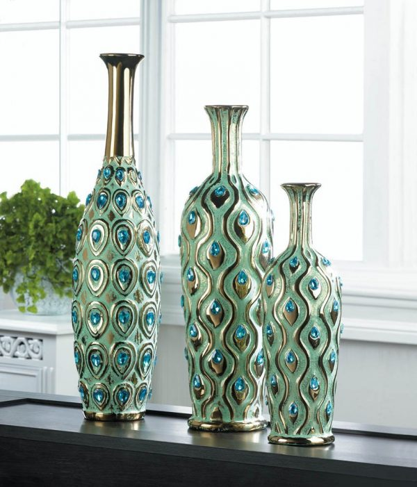 52 captivating peacock home decor accessories - Turquoise Home Decor Accessories
