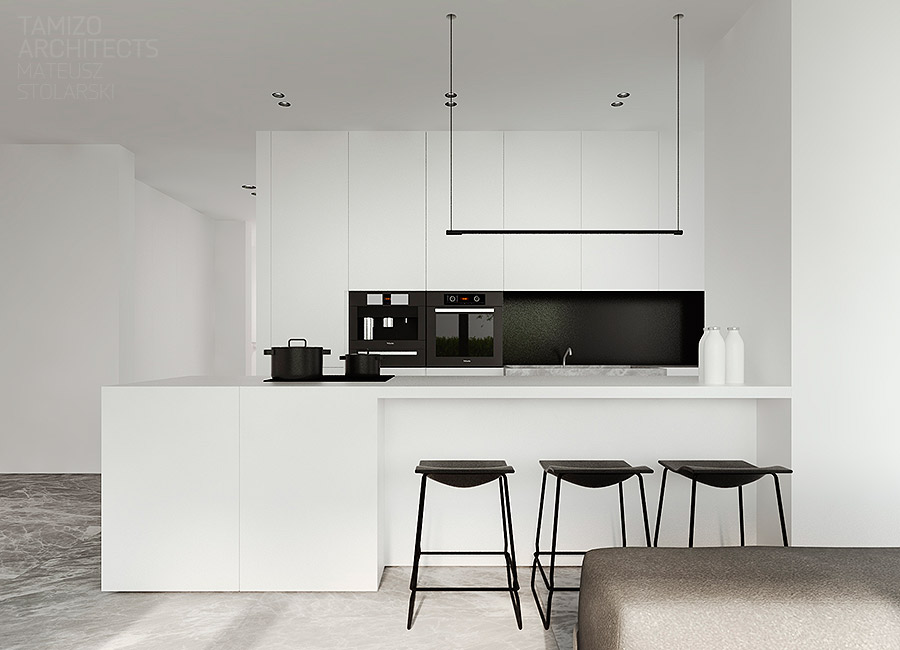 Beautiful Black And White Kitchens 40 beautiful black & white kitchen designs