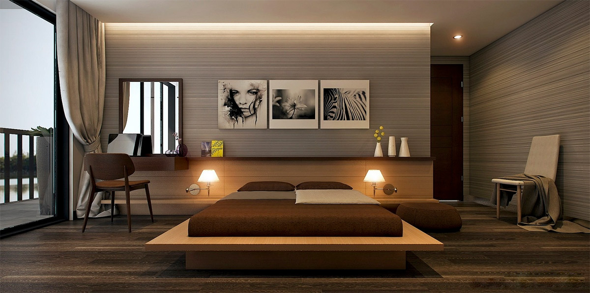 40 Serenely Minimalist Bedrooms To Help You Embrace Simple Comforts Magnificent Best Bedroom Designs Minimalist Design