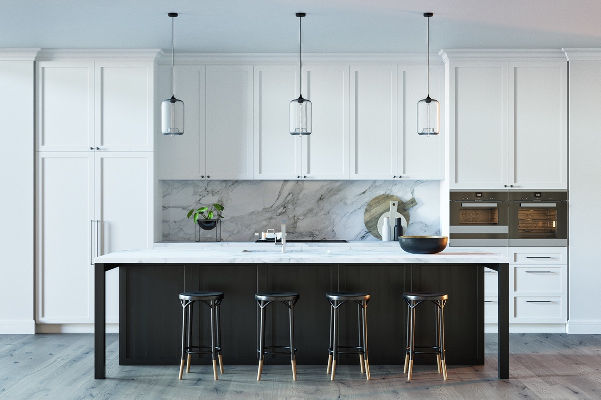 White Marble Kitchen. White Marble Kitchen R - Activavida.co