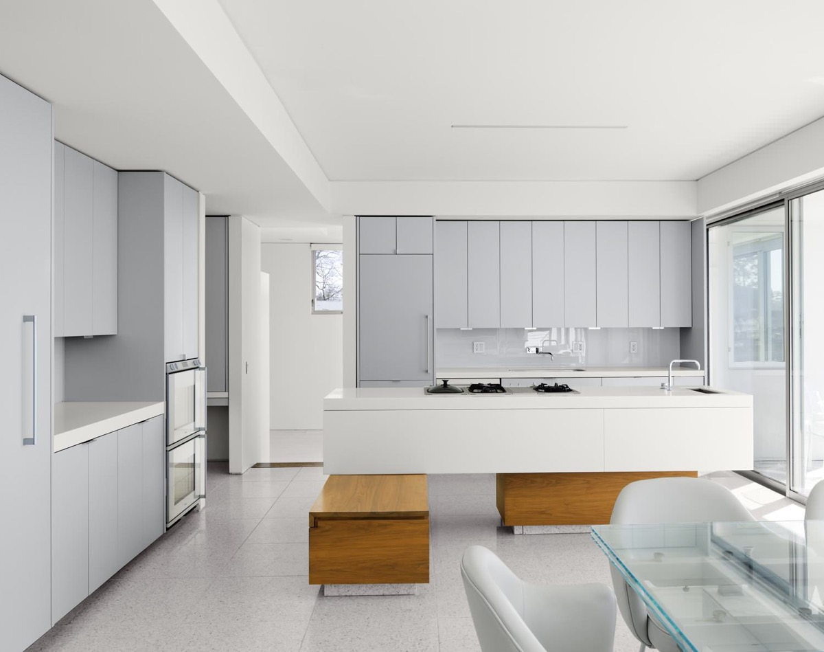 White Grey And Wood Kitchen Light And Breezy - 40 gorgeous grey kitchens