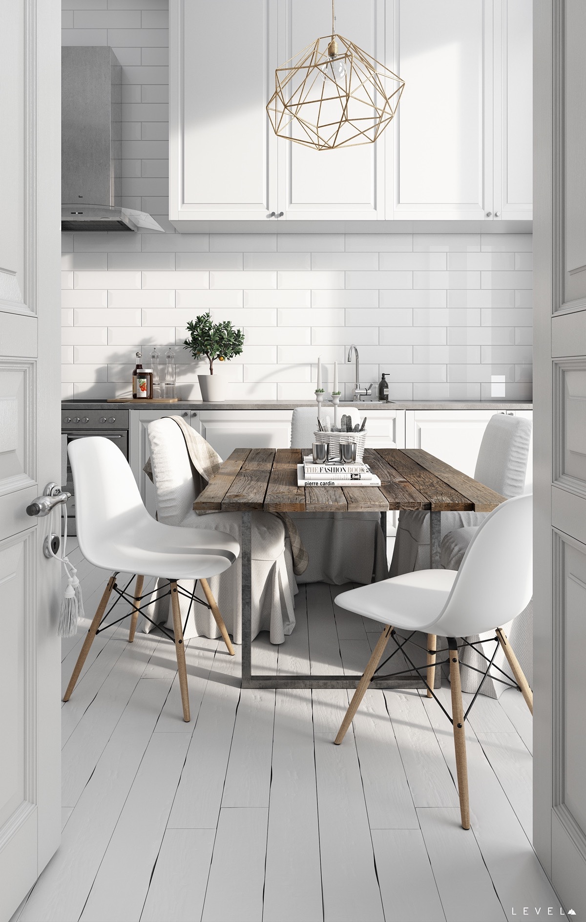 Scandinavian kitchens ideas inspiration for Table inspiration scandinave