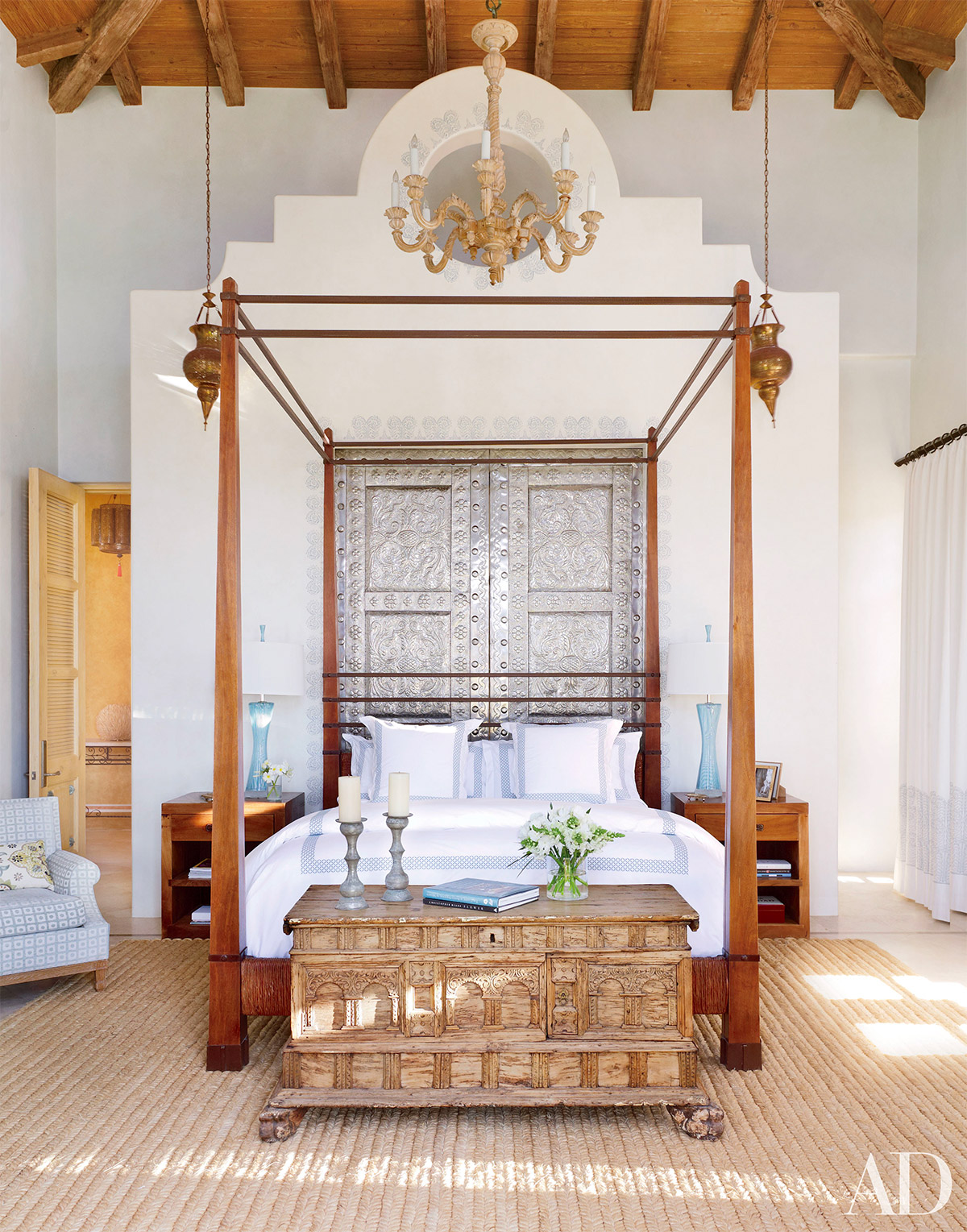 32 fabulous 4 poster beds that make an awesome bedroom for Architecture indienne