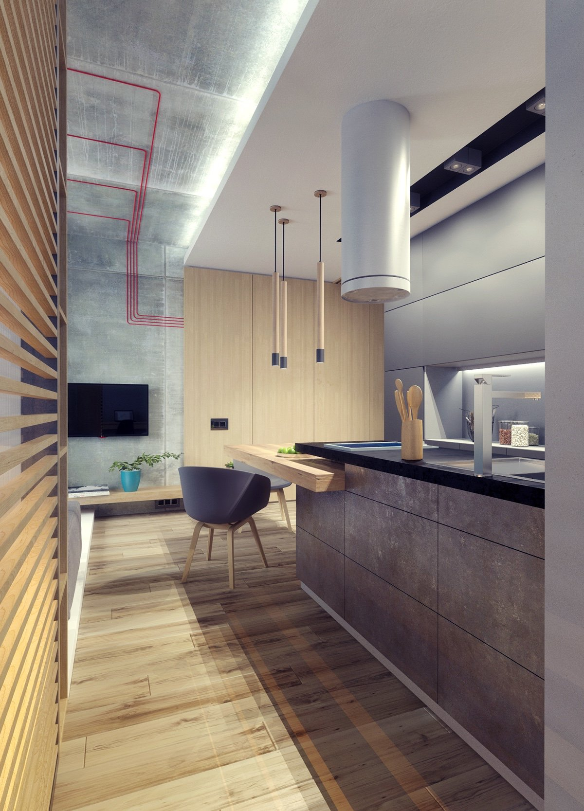 3 Studio Apartments Under 50sqm For City Dwelling Couples Including