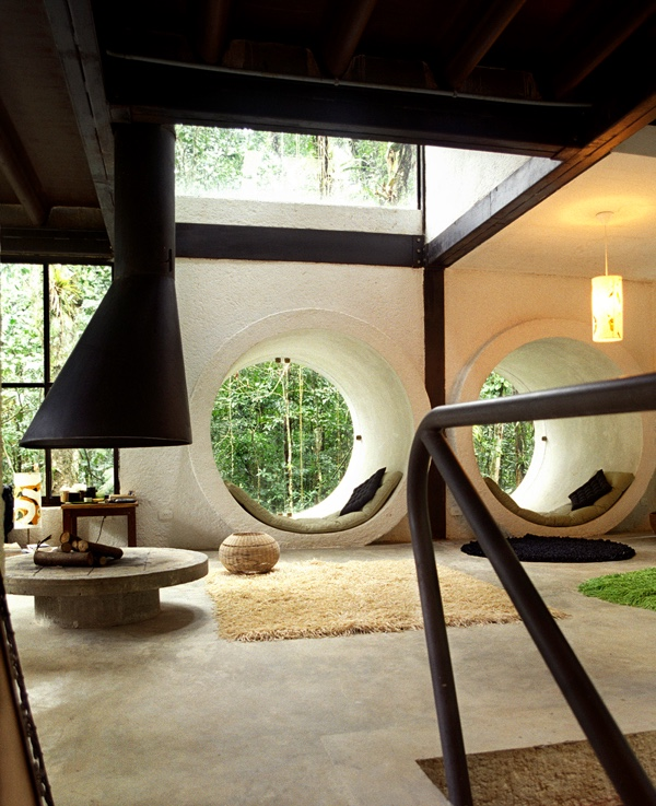 Concrete White Tunnel Best Reading Nooks - 50 best reading nooks we have ever come across