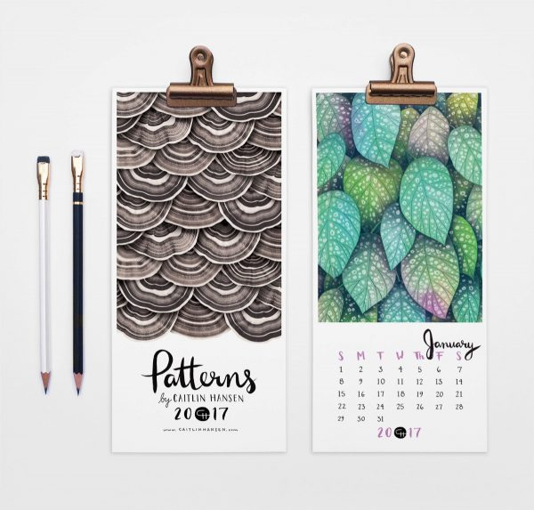 36 Unique Desk & Wall Calendars To Help You Get Ready For The New Year