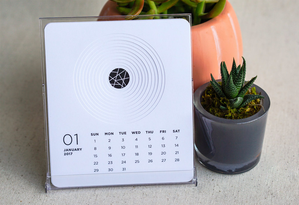 Calendar Wall Ideas : Unique desk wall calendars to help you get ready for