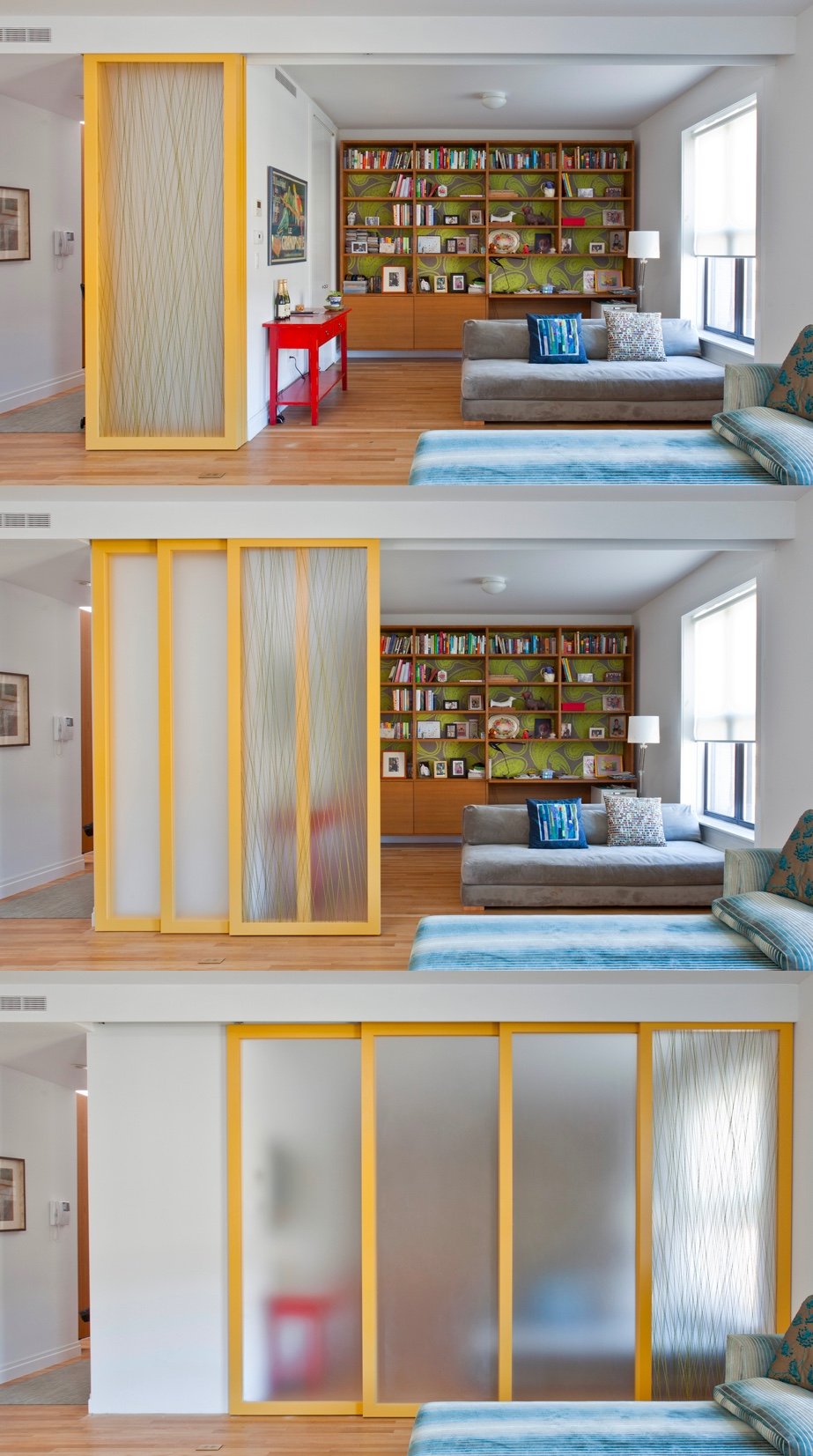 Glass Partitioned Closet Nook - 50 best reading nooks we have ever come across