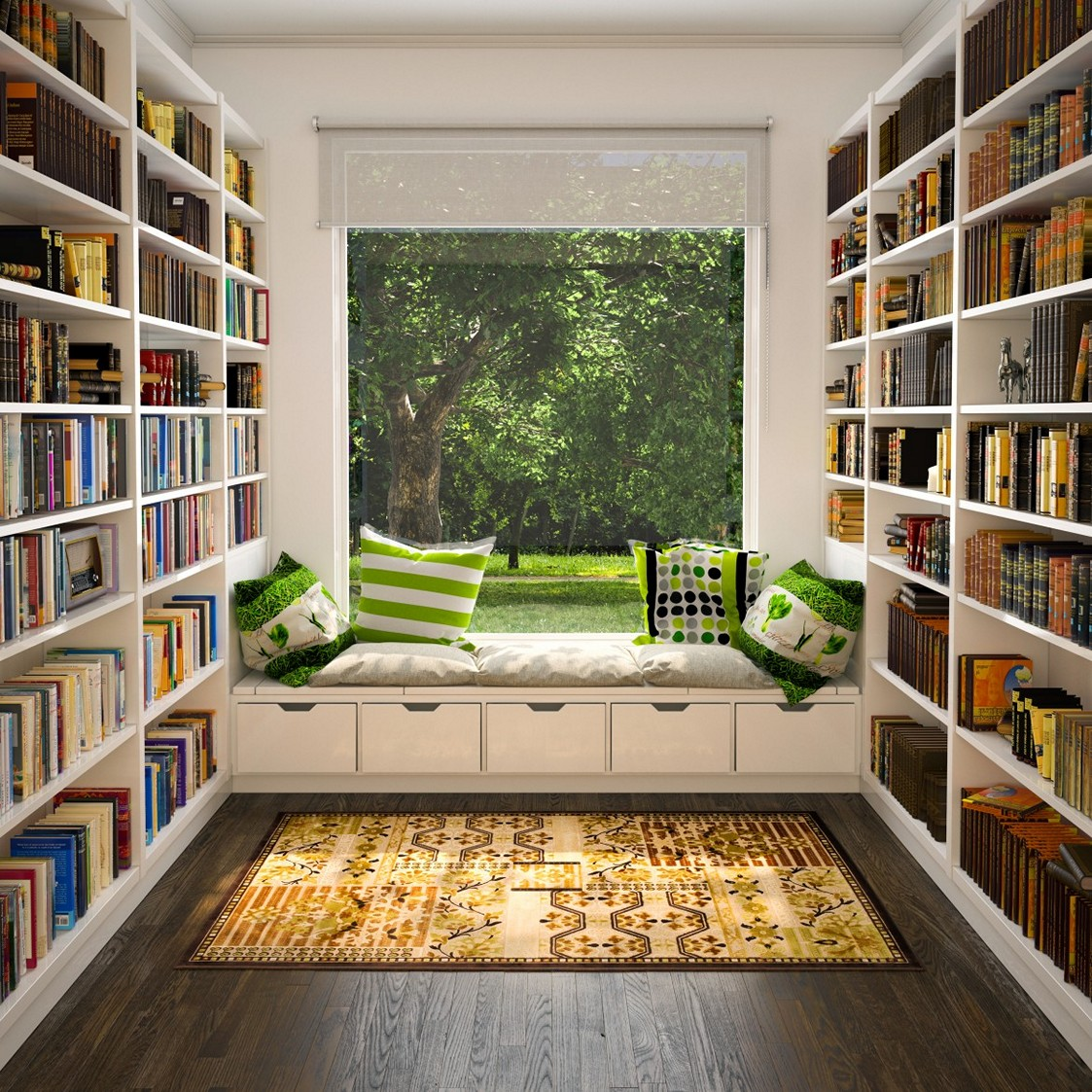 50 best reading nooks we have ever come across Window seat reading nook