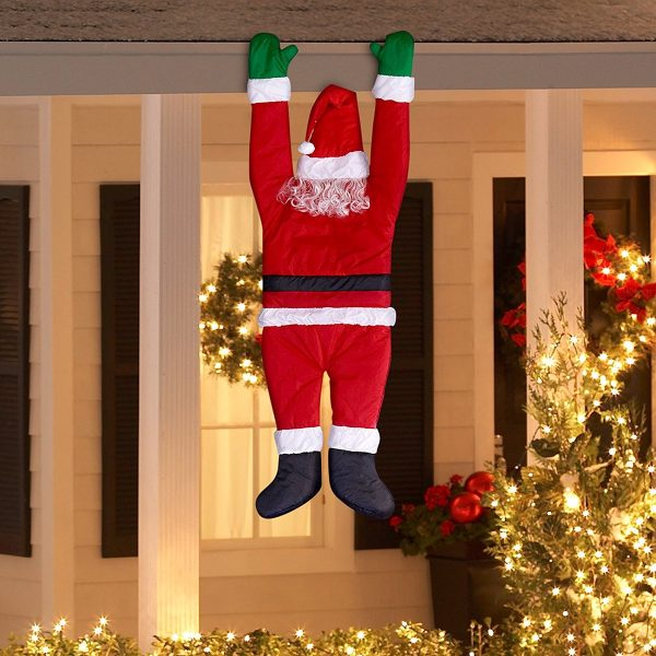 50 christmas home decor items to help you get ready for for Outdoor hanging ornaments