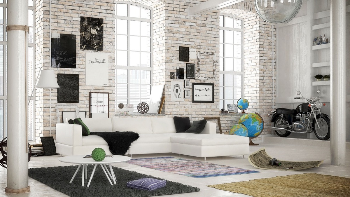 added on of lounge brick table lamp theme classic floor look the black brings wall white interior and small mesmerizing chair decorating nuance by ideas fabric exposed