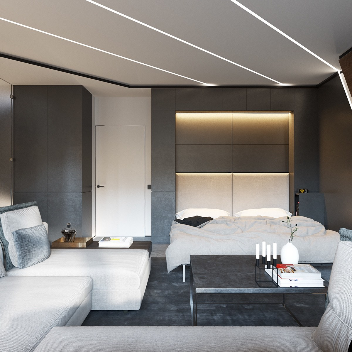 3 open layout apartments that use clever space saving techniques amipublicfo Images