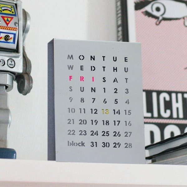 36 unique desk wall calendars to help you get ready for the new year
