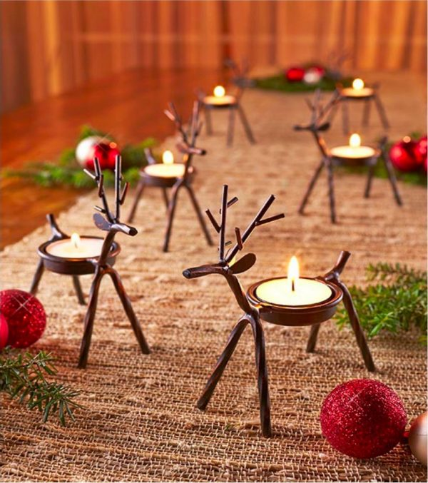 50 christmas home decor items to help you get ready for the season - How To Decorate Votive Candle Holders For Christmas