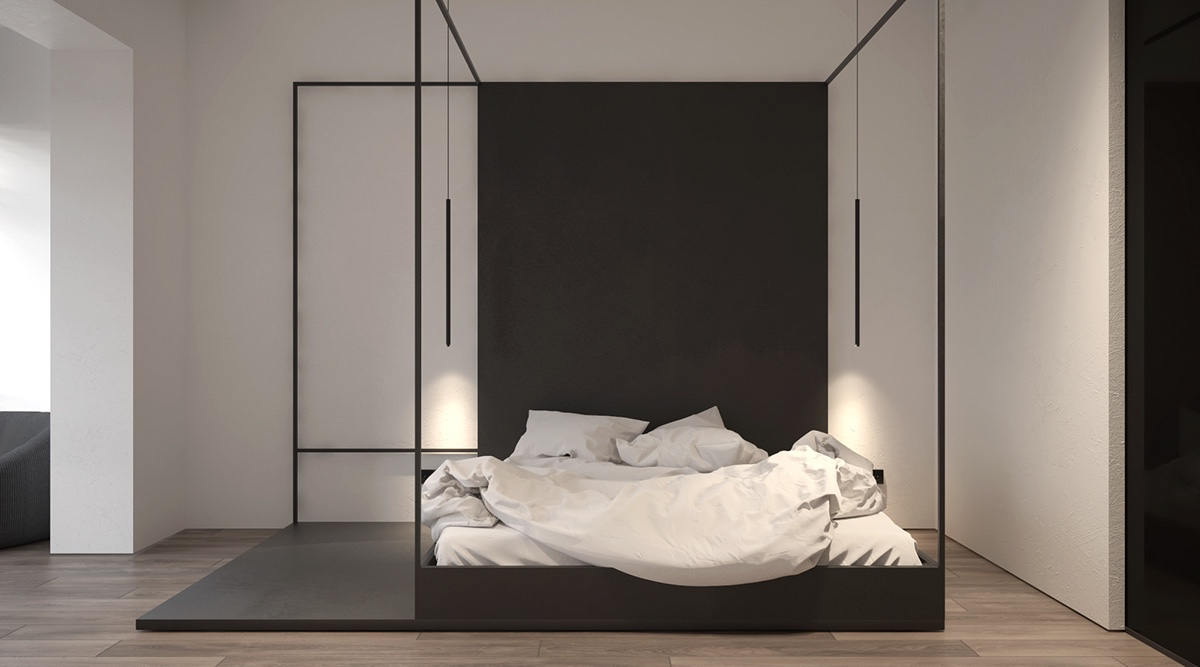 four poster bed modern  32 Fabulous 4 Poster Beds That Make An Awesome Bedroom