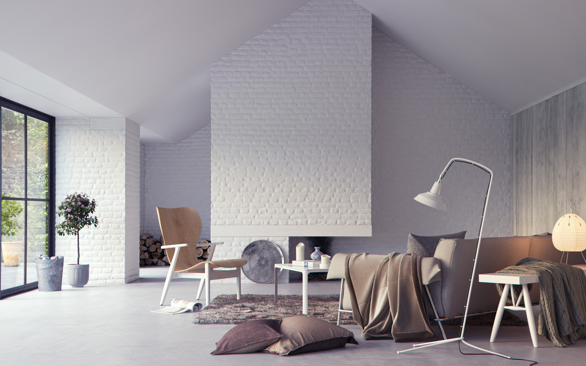 Permalink to Awesome Living Rooms Exposed Brick Walls