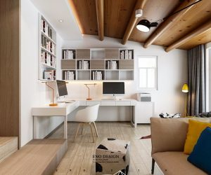 3 open layout apartments that use clever space saving techniques - Compact House Interior