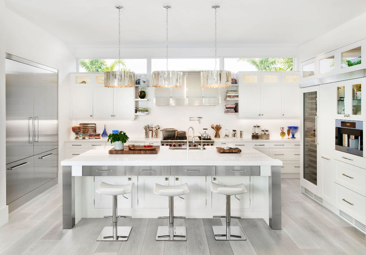 Wood And White Kitchen 30 Gorgeous Grey And White Kitchens That Get Their Mix Right