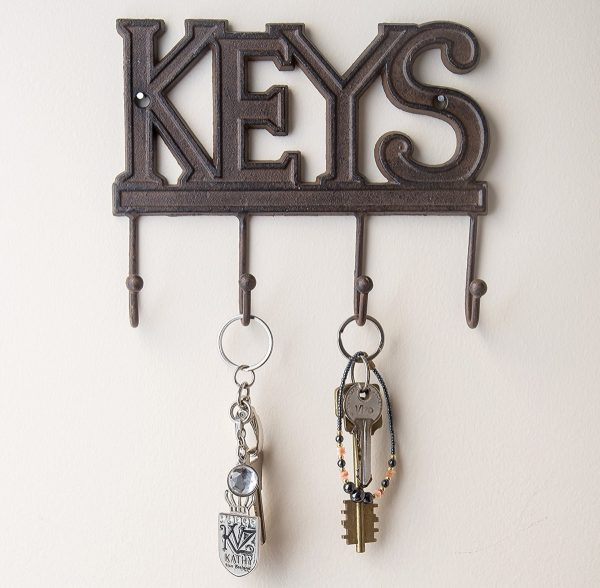 Unique wall key holders and hook racks - Key racks for wall ...