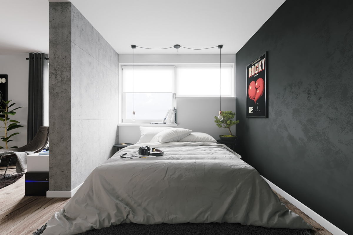 4 first home interior ideas with a scandinavian twist. Black Bedroom Furniture Sets. Home Design Ideas