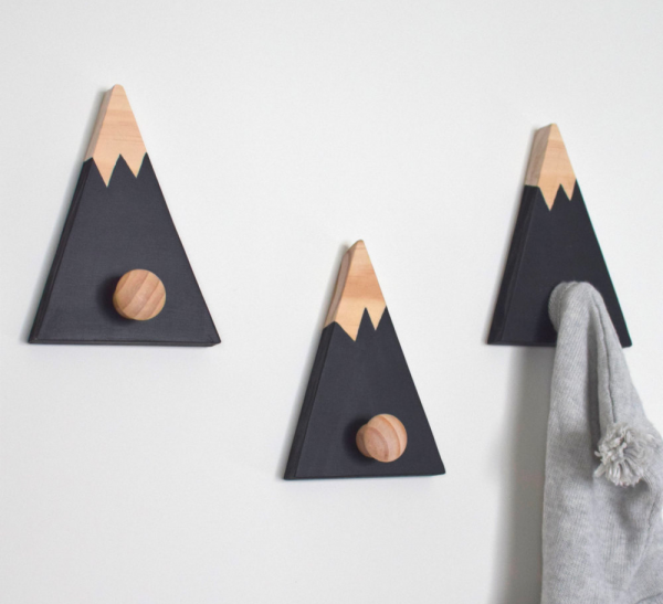 Decorative Wall Hooks 40 decorative wall hooks to hang your things in style