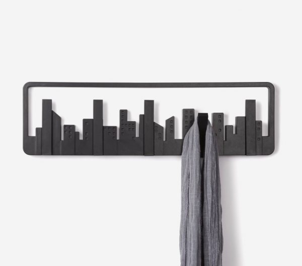 40 decorative wall hooks to hang your things in style for Fold down coat hooks