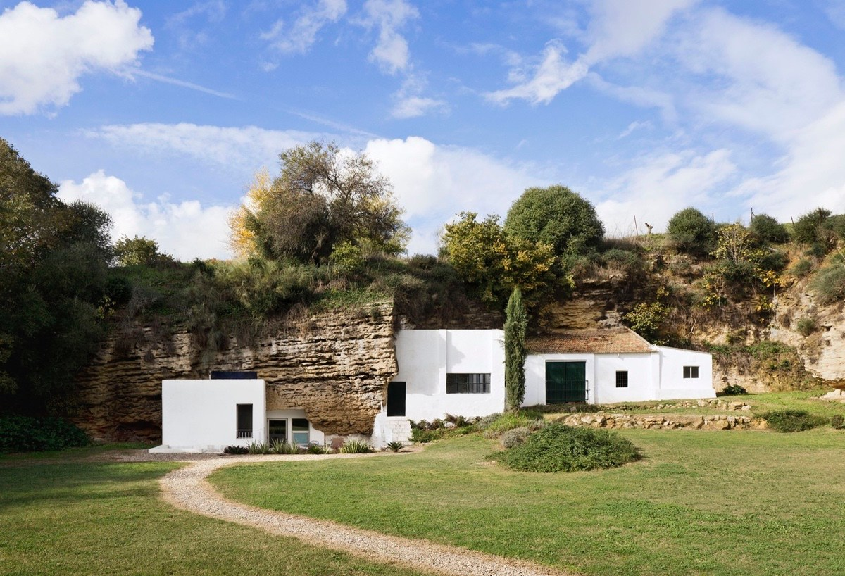 Elegant A Stunning Cave House In Spain