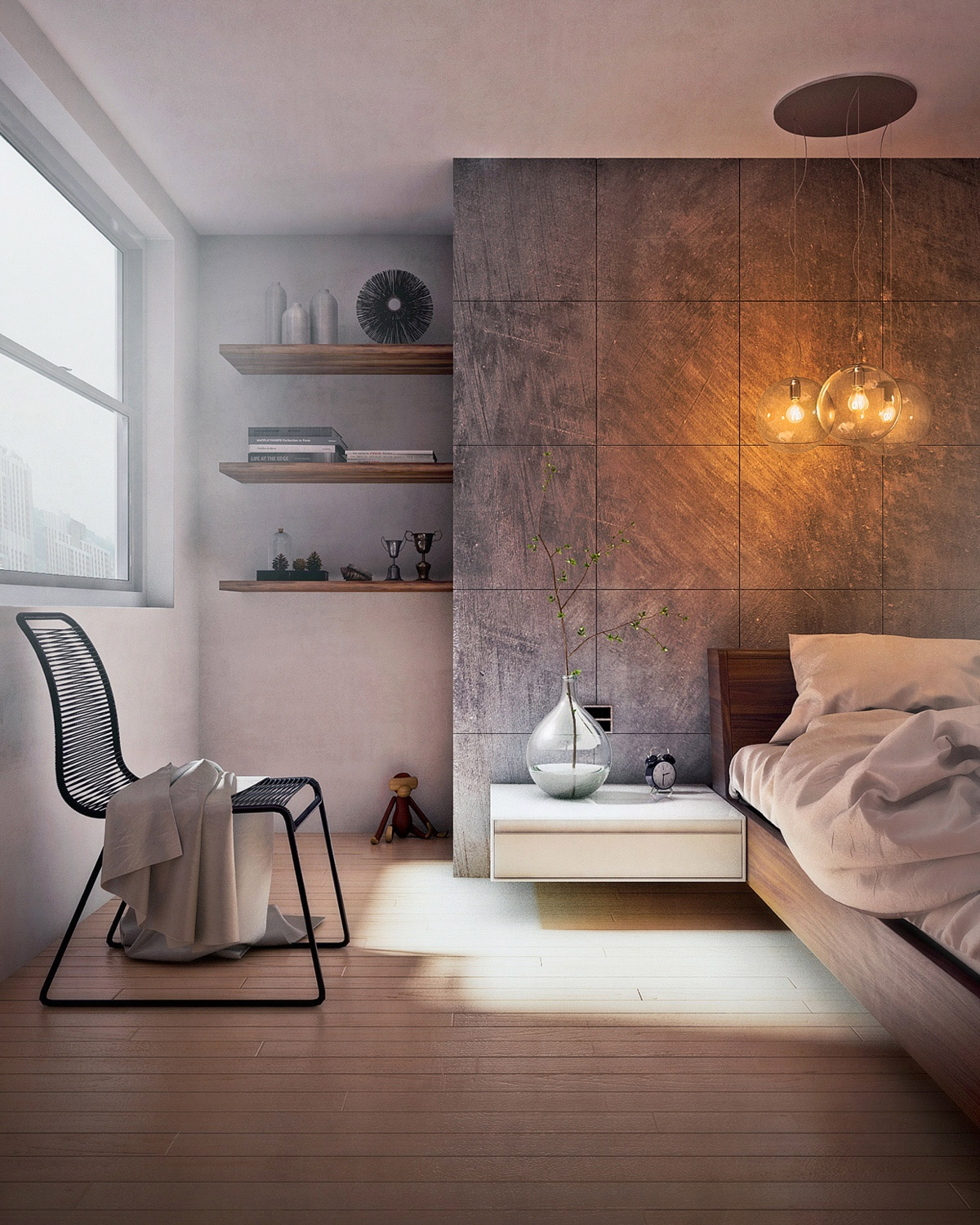 Concrete Wall Designs 30 Striking Bedrooms That Use Concrete - concrete walls design ideas