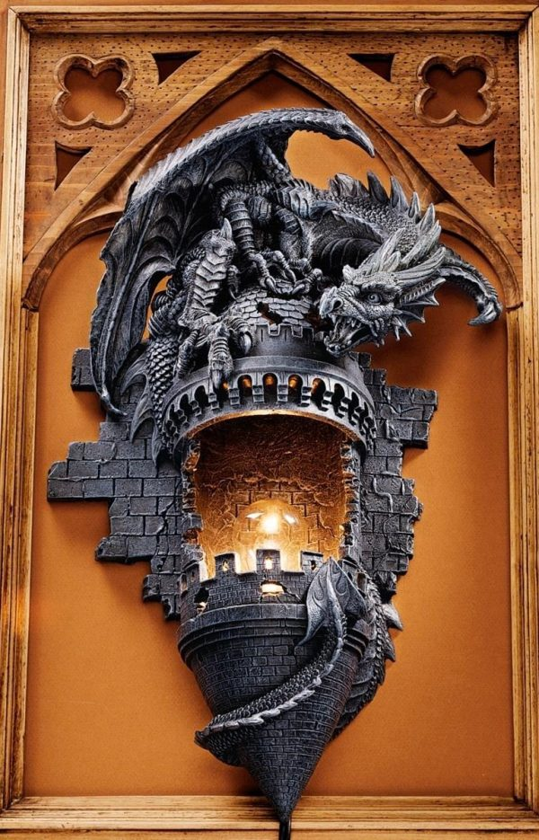 50 dragon home decor accessories to give your castle - Dragon decorations for a home ...