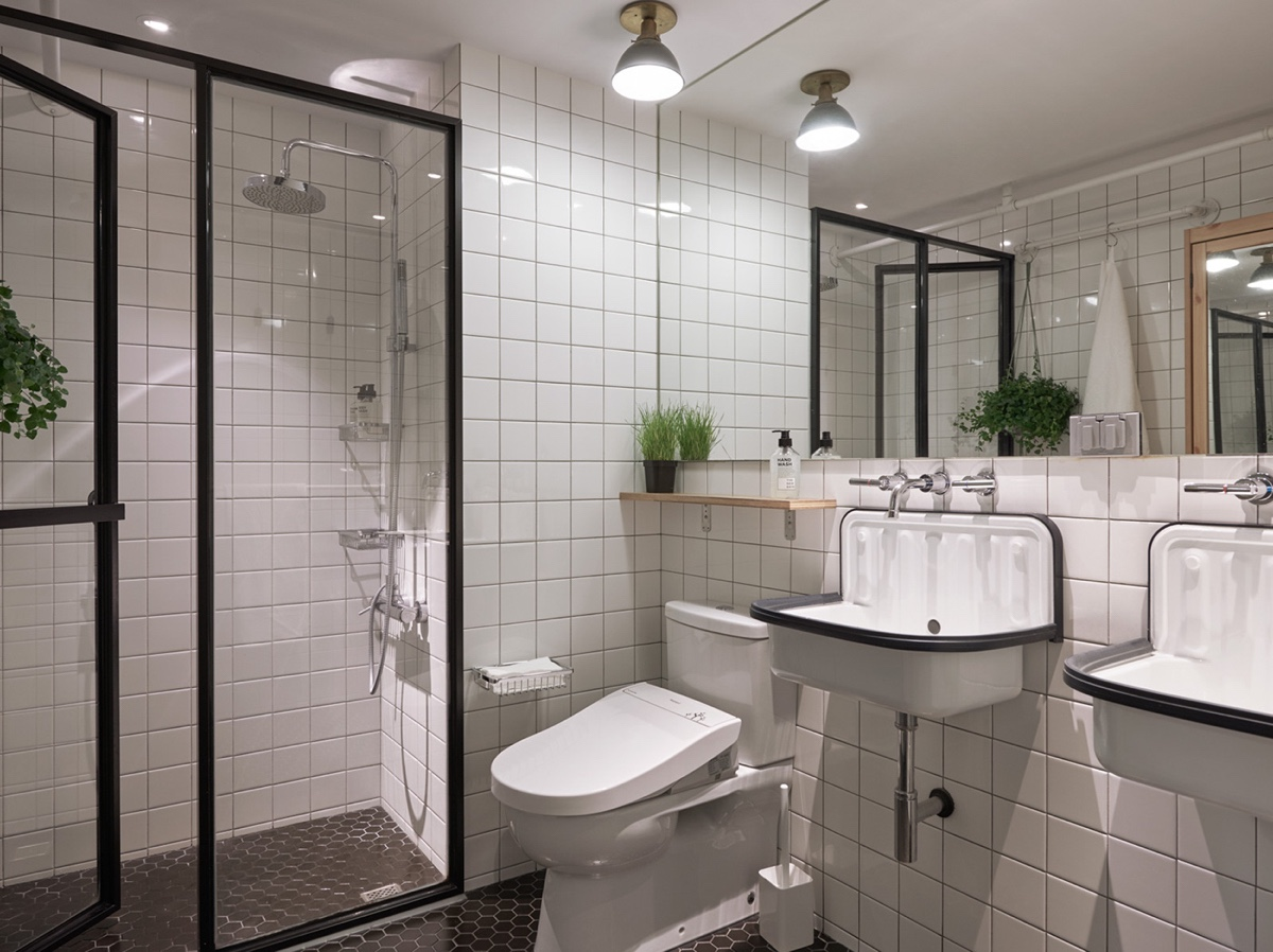 Floating Vanities Small Bathroom Decor - Cat owner s cramped apartment gets room to breathe