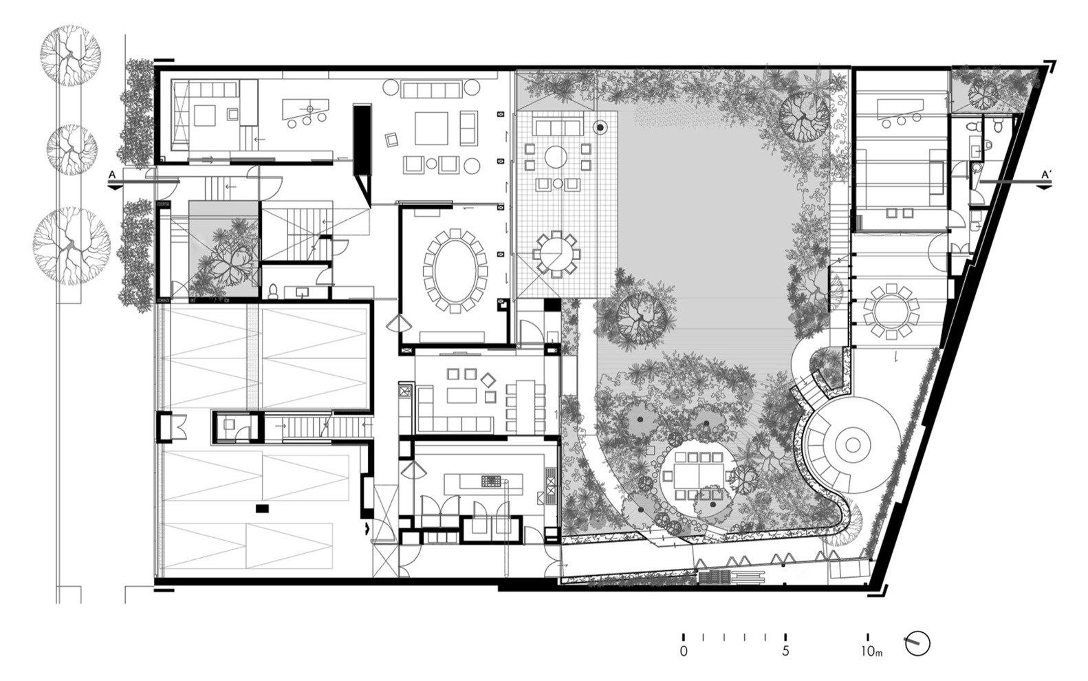 Garden View Design - This gorgeous home is a nature loving bookworm s paradise
