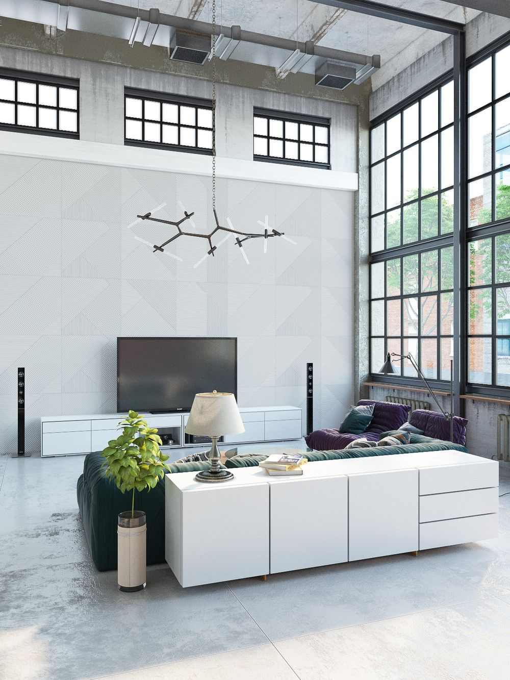 Home designing join the industrial loft revolution for Industrial windows for homes