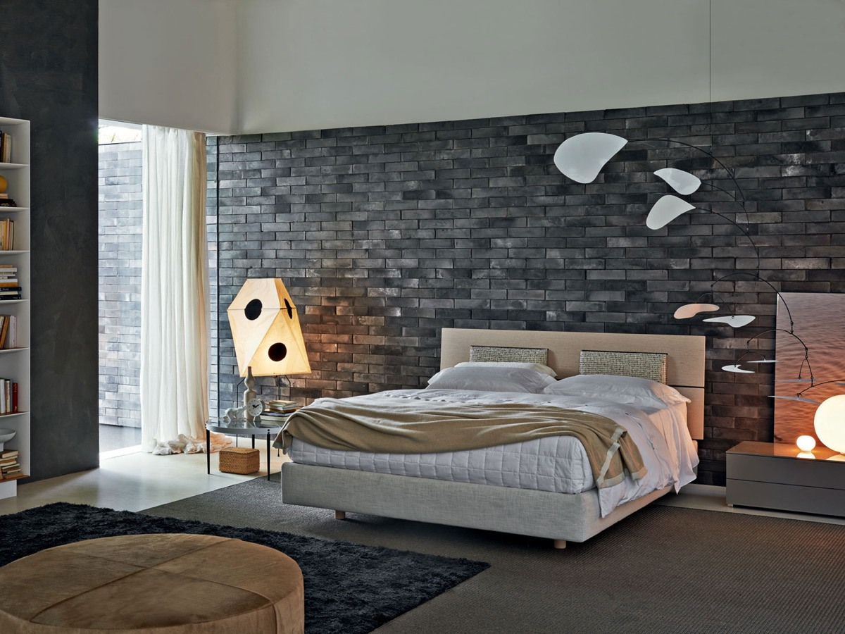Exposed Brick Wall Bedrooms With Exposed Brick Walls