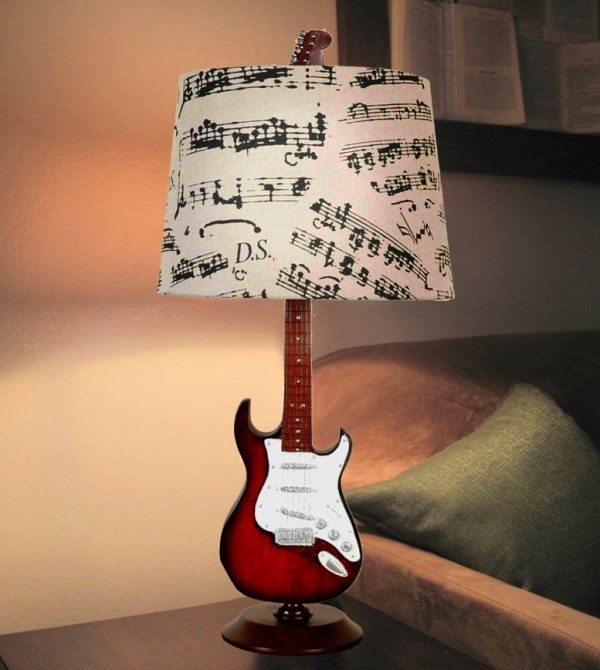 Musical bedroom decor