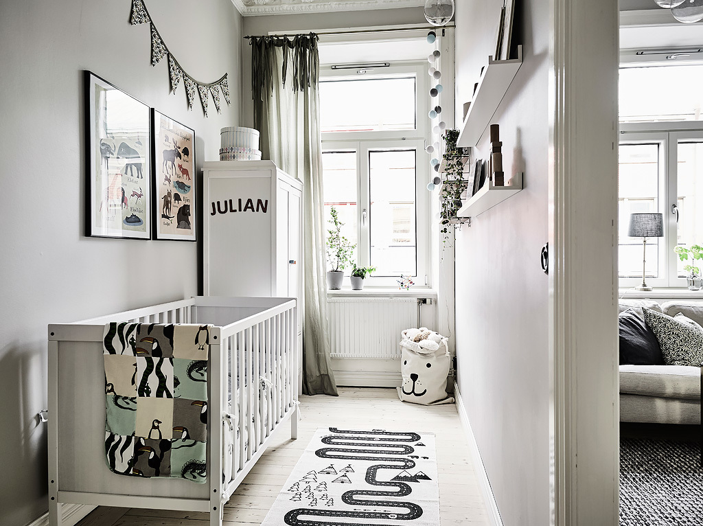 Hipster Nursery Grey And Black Bedroom - Grey and white interior design inspiration from scandinavia