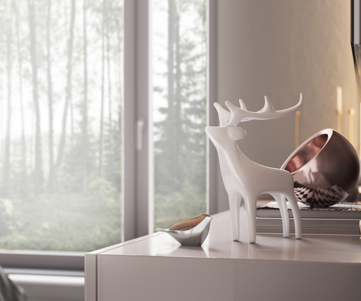 Hipster Ornaments Minimalist Bedroom - Minimalist muted colour home with scandinavian influences