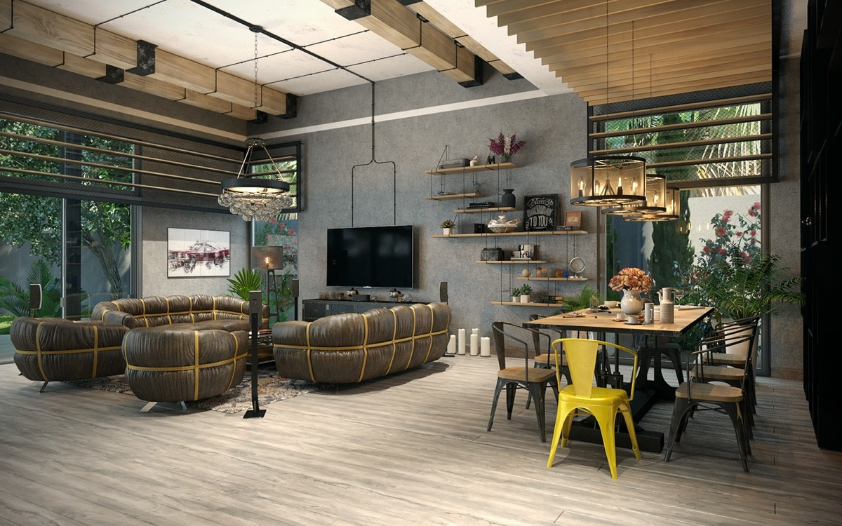Industrial Home Design Join The Industrial Loft Revolution