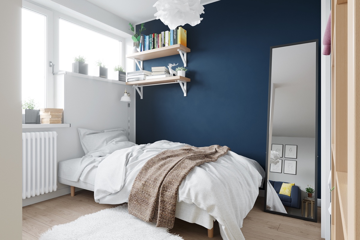 4 first home interior ideas with a scandinavian twist Industrial scandinavian bedroom