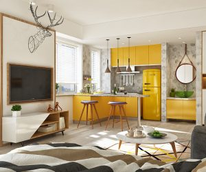 Jazz  Apartment Interior Design Ideas Part 3