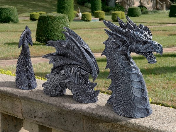 50 dragon home decor accessories to give your castle for Yard ornaments for sale