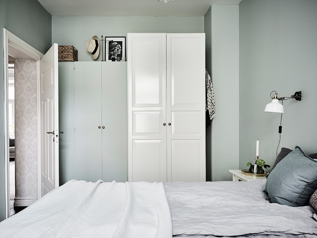 Pastel Armoires Grey Bedroom Designs - Grey and white interior design inspiration from scandinavia