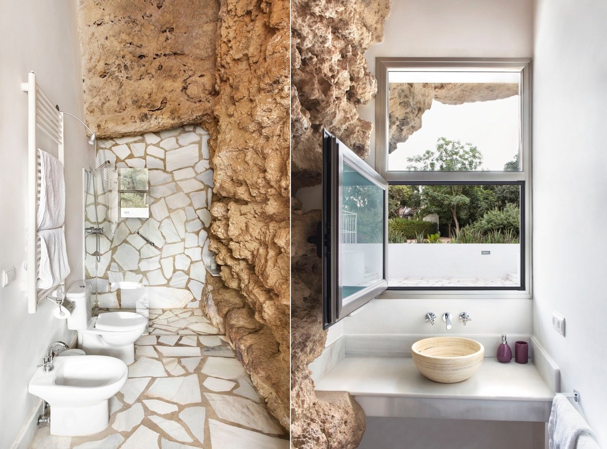 A Stunning Cave House In Spain.... : Interior Design Ideas