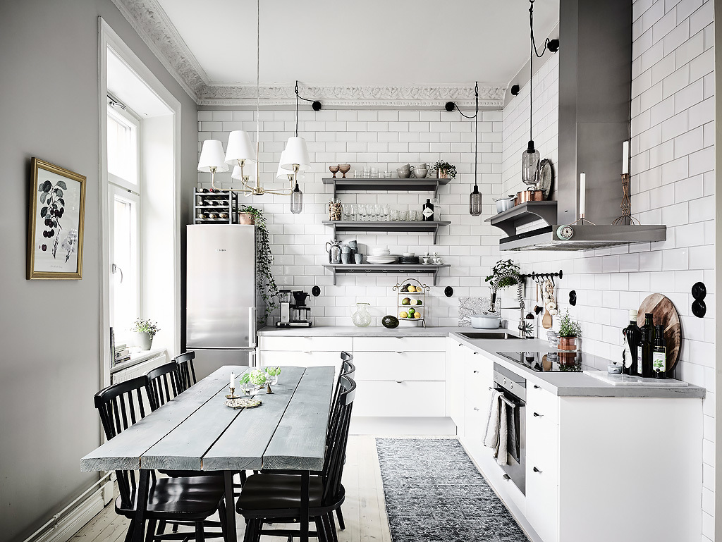 Good Grey And White Interior Design Inspiration From Scandinavia Awesome Design