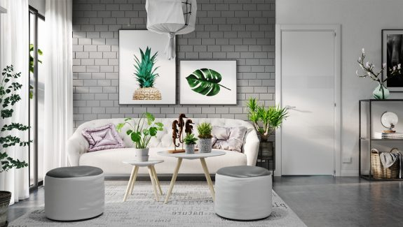 Grey And White Interior Design Inspiration From Scandinavia & 40 Grey Living Rooms That Help Your Lounge Look Effortlessly Stylish ...