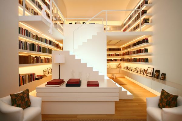 Stairs Shelves 50 creative ways to incorporate book storage in & around stairs