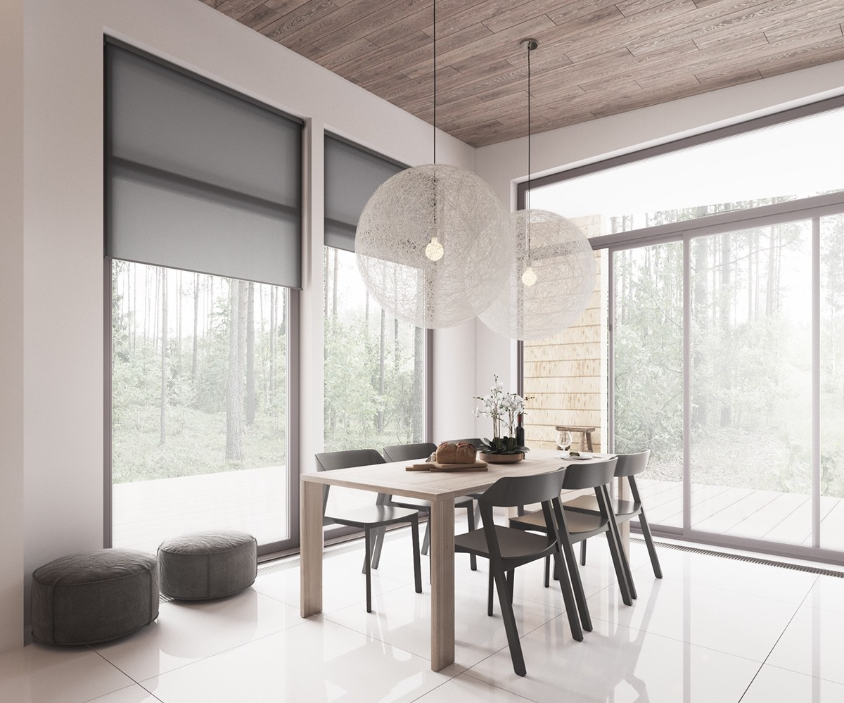 Minimalist MutedColour Home With Scandinavian Influences - Formation decorateur interieur avec canape u design